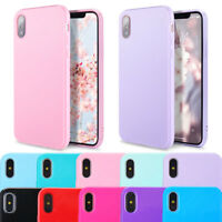 For iPhone XS Max XR X 7 8 Plus Case Silm Soft Cute Silicone Rubber TPU Cover