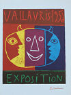 Pablo Picasso Lithograph Vallauris Exposition VIII First Edition 1957