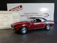 Danbury Mint 1969 Chevy Camaro SS Coupe Limited Edition 1:24 Scale Diecast Car
