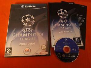 UEFA Champions League 2004-2005 Nintendo Gamecube Gc Pal Complete FR