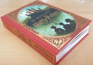 J K Rowling - Harry Potter & The Philosopher's Stone SIGNED MinaLima Illustrated