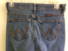 Wrangler Q-Baby Denim Jeans Women's size 3/4 x 32