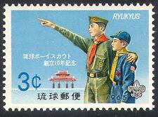 Ryukyus 1965 Scouts/Scouting/Youth/Leisure/Shuri Gate/Buildings 1v (n26601)