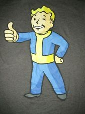 Bethesda Fallout Vault Boy T Shirt Sz L Video Games Mascot X Box PS3 PS4 PS2 PS1