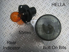 HELLA Rear Clear/Grey Indicator Light/lamp 55mm Kit car/westfield/caterham/4x4