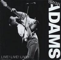Adams Bryan - Live! Live! Live! (NEW CD)