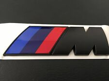 BMW M sport logo Sticker Decal Badge Emblem For All BMW 1234567 X13456