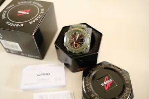 Casio G-Shock military green Classic Analog dial GA-2000-3AER