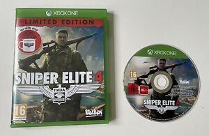 Sniper Elite 4 Microsoft Xbox One Boxed PAL