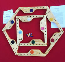 PEGS and JOKERS Board Game 10 Player- 100% made in USA!!!