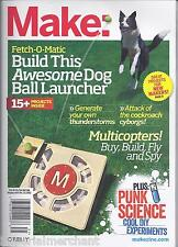 Make magazine Dog ball launcher Multicopters Punk science experiments Thunder