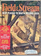 10/1962 Field and Stream Magazine