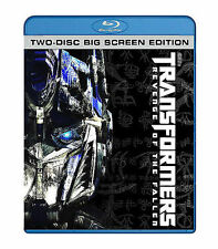 Transformers: Revenge of the Fallen - Big Screen Edition (Blu-ray Disc, 2009, 2-