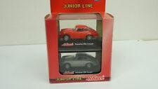 Schuco Junior Line 1:72 Porsche 356 Coupe SET 2tlg. in OVP (A619)