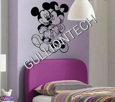 Mickey & Minnie Mouse Wall Art Sticker