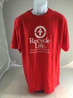 RECYCLE LIFE  Lds Hospital Transplant T-Shirt  GREAT CONDITION RARE ITEM XL
