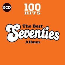 100 Hits: The Best 70s - Various Artist (2017, CD NIEUW)5 DISC SET