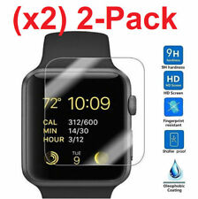 2pcs Tempered Glass Screen Protector for Apple Watch 38mm 1 2 3 series