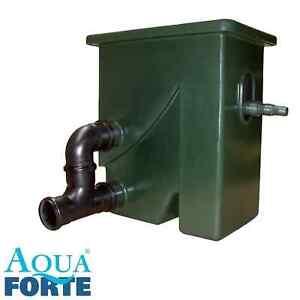 AquaForte CompactSieve II Siebfilter Spaltsieb Vorfilter Koi Teich Filter Sieb