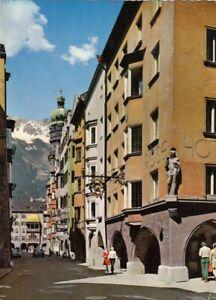 Innsbruck,Herzog-Friedrich-Straße, Hotel Goldene Rose glum 1960? G5033