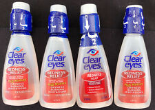 4 Clear Eyes Redness Relief Eye Drops 0.5oz 678112254156a289 EXP 06/20