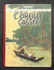 Hergé. L'Oreille Cassée. Casterman 1942, A1. Noir et blanc GRANDE IMAGE COULEURS