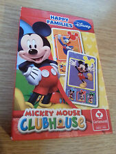 RARE Playing Cards Disney Mickey Mouse Clubhouse Happy Families Game Morrisons