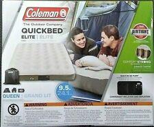 Coleman QuickBed Elite Extra High Airbed Queen Built in 4D Pump Camping Outdoor