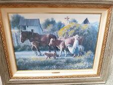 "Robert Duncan ""A Passing Parade"" 248/1500 Limited Edition Print 20"" x 28"" COA"