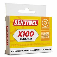 Sentinel X100 Inhibitor Heating System Quick Test Kit | Fast Free Delivery