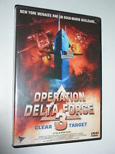 DVD ZONE 2 OPÉRATION DELTA FORCE 3 CLEAR TARGET DAVID DUKAS NEUF SCELLE
