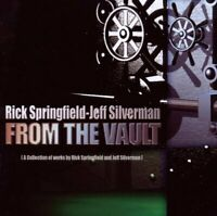 Rick Springfield - Jeff Silverman - From The Vault    - CD