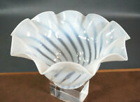 Antique Victorian Opaline Art Glass Lamp Shade Ceiling Lamp/Wall Sconce Fixture