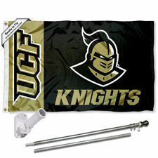 Central Florida Knights Flag Pole and Bracket Gift Set Package