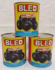 Noir Olives sans Pierre de Maroc Épicerie Fine - 3 x 850 G - Végétarien Vegan