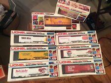 Vintage and RARE 1986 Lionel Burger King Fast Food Train Set NIBs