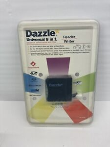 New Dazzle USB 8-in-1 Universal Memory Micro Drive Compact Flash Card Reader
