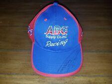 AJ Foyt Racing #14 ABC Supply Takuma Sato signed auto IndyCar adjustable hat