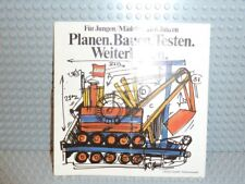 "LEGO ® catalogue 1974 ""planifier construire Tester"" 97875-ty Magazine Allemand Vieux prospectus b523"