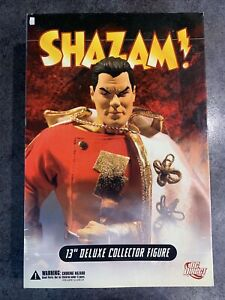 shazam dc direct deluxe collector figure 1:6 scale