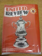 09/01/1980 Manchester United v Tottenham Hotspur [FA Cup Replay] . Thanks for ta