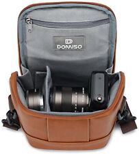 High Quality Camera Bag Case for SONY/ CANON /OLYMPUS / FUJIFILM - Brown
