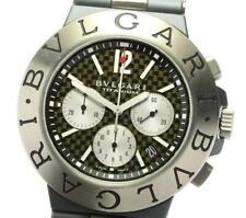BVLGARI Diagono Titanium TI44TACH Chronograph Automatic Men's Watch_566523