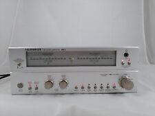 TELEFUNKEN MA 1 HiFi Amplifier Verstärker 2x50W MIDI Alu silber, LED Pegel, 1A!