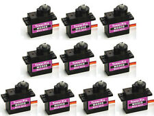 10 PCS MG90S Micro Metal Gear 9g Servo for RC Plane Helicopter Boat Car