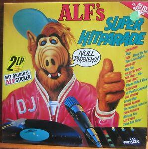 LP - ALF'S SUPER HITPARADE = SANDRA / HEAVEN 17 /ELTON JOHN /GIANNA NANNINI 2 LP