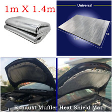 1MX1.4M Car Hood Turbo Exhaust Muffler Engine Protector Heat Shield Cotton Mat