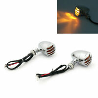 Turn Signal Blinker Indicator For Chopper Sportster Dyna Softail Chrom/A5