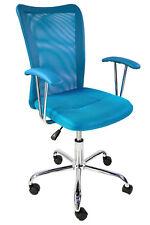 Migalli - Sedia da ufficio girevole, in vari colori, LAP ca. 58x(86-96)x52 cm
