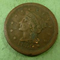 1852 Large Cent   #LC52-4